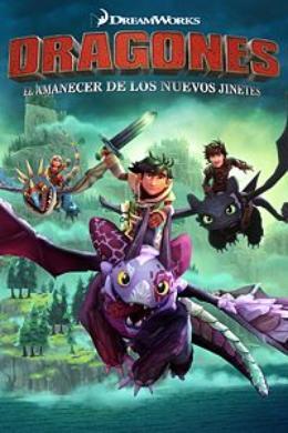 Carátula de Dragones: El amanecer de los nuevos jinetes para Nintendo Switch