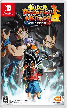 Carátula de Super Dragon Ball Heroes: World Mission para Nintendo Switch