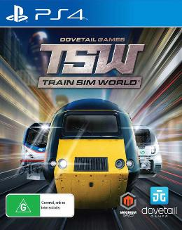 Carátula de Train Sim World para PlayStation 4