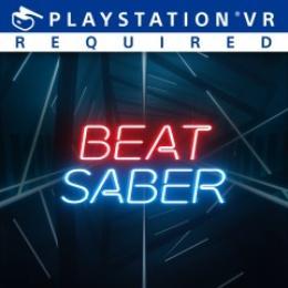 Carátula o portada No oficial (Montaje) del juego Beat Saber para PlayStation 4