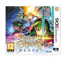 Carátula o portada Europea del juego Etrian Odyssey Nexus para Nintendo 3DS