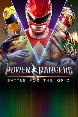 Carátula de Power Rangers: Battle for the Grid para Nintendo Switch