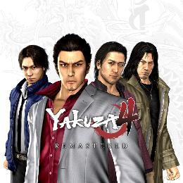 Carátula de Yakuza 4 para PlayStation 4