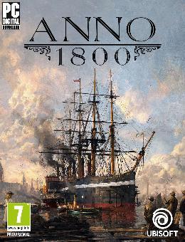 Carátula de Anno 1800 para PC