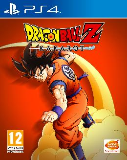 Carátula o portada Europea del juego Dragon Ball Z: Kakarot para PlayStation 4