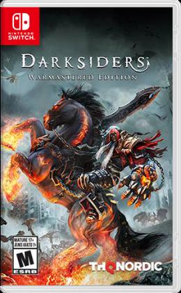 Carátula de Darksiders: Warmastered Edition para Nintendo Switch