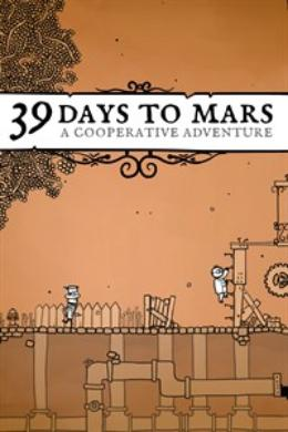 Carátula de 39 Days to Mars para PC