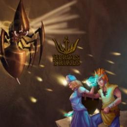 Carátula o portada No oficial (Montaje) del juego Heroes Trials para Mac