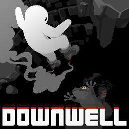 Carátula de Downwell para Nintendo Switch