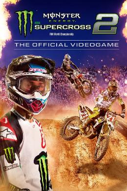 Carátula de Monster Energy Supercross 2 para Nintendo Switch