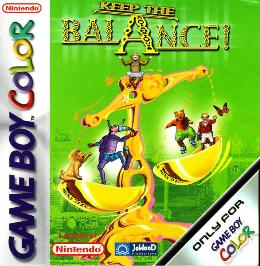 Carátula o portada Europea del juego Keep the Balance para Game Boy Color