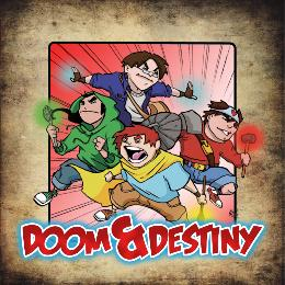 Carátula de Doom & Destiny para PC