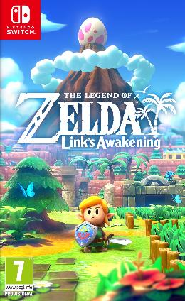 Carátula de The Legend of Zelda: Link's Awakening para Nintendo Switch