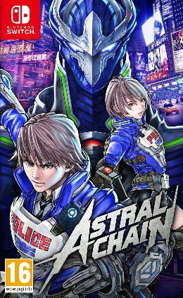 Carátula de Astral Chain para Nintendo Switch