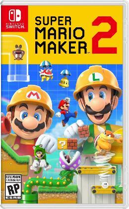 Carátula de Super Mario Maker 2 para Nintendo Switch