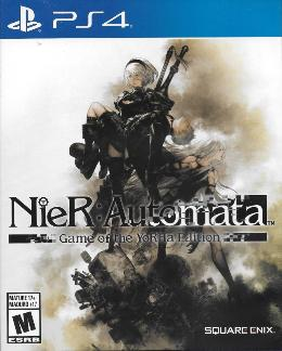 Carátula de NieR: Automata: Game of the YoRHa Edition para PlayStation 4