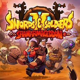 Carátula de Swords and Soldiers 2 Shawarmageddon para Nintendo Switch