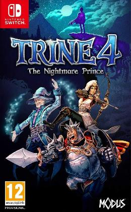Carátula de Trine 4: The Nightmare Prince para Nintendo Switch
