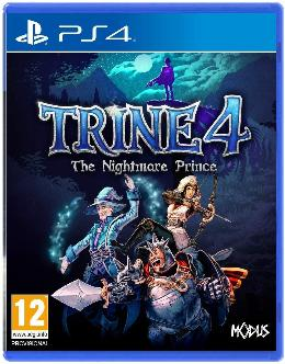Carátula de Trine 4: The Nightmare Prince para PlayStation 4