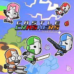 Carátula o portada Europea del juego Castle Crashers: Remastered para Nintendo Switch