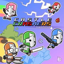 Carátula de Castle Crashers: Remastered para PlayStation 4