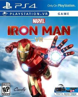 Carátula de Iron Man VR para PlayStation 4