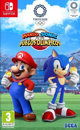 Carátula de Mario & Sonic en los Juegos Olímpicos Tokio 2020