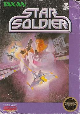 Carátula de Star Soldier para NES