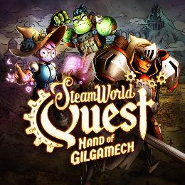 Carátula de SteamWorld Quest: Hand of Gilgamech para Nintendo Switch