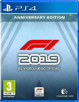 Carátula de F1 2019 para PlayStation 4