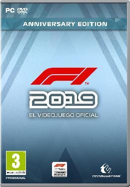 Carátula de F1 2019 para PC