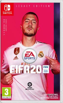 Carátula de FIFA 20 para Nintendo Switch