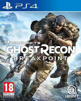Carátula de Tom Clancy's - Ghost Recon: Breakpoint para PlayStation 4