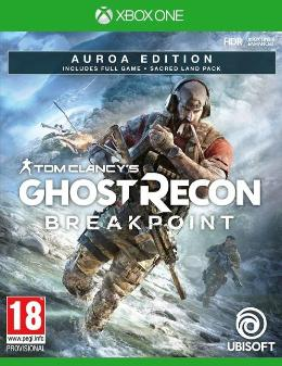 Carátula de Tom Clancy's - Ghost Recon: Breakpoint para Xbox One