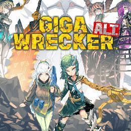 Carátula de Giga Wrecker Alt. para Nintendo Switch