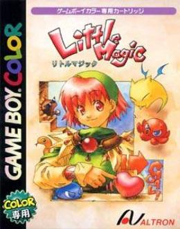Carátula o portada Japonesa del juego Little Magic para Game Boy Color