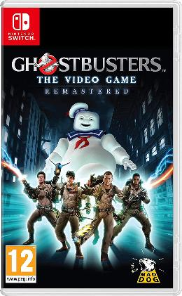 Carátula de Ghostbusters: The Video Game Remastered para Nintendo Switch