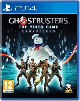Carátula de Ghostbusters: The Video Game Remastered para PlayStation 4