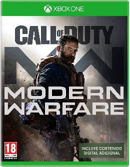 Carátula de Call of Duty: Modern Warfare para Xbox One