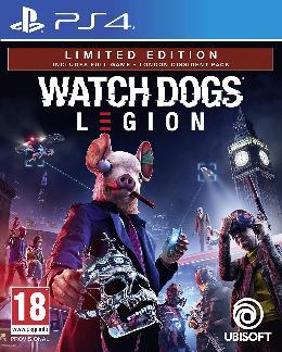 Carátula de Watch Dogs Legion para PlayStation 4