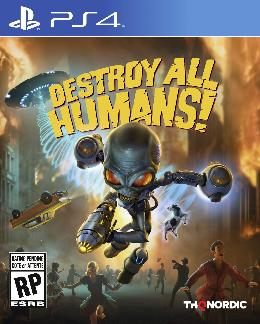 Carátula de Destroy All Humans! para PlayStation 4