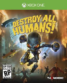 Carátula de Destroy All Humans! para Xbox One