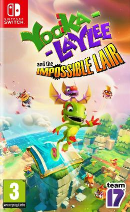 Carátula de Yooka-Laylee and the Impossible Lair para Nintendo Switch
