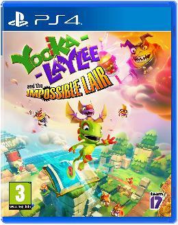 Carátula de Yooka-Laylee and the Impossible Lair para PlayStation 4
