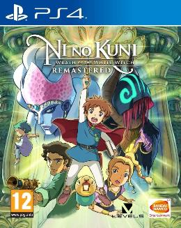 Carátula de Ni No Kuni: Wrath of the White Witch - Remastered para PlayStation 4