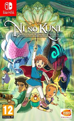 Carátula de Ni No Kuni: Wrath of the White Witch para Nintendo Switch