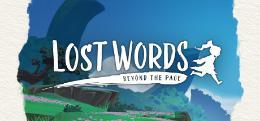 Carátula o portada Logo Oficial del juego Lost Words: Beyond the Page para Nintendo Switch