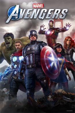 Carátula de Marvel's Avengers para PC