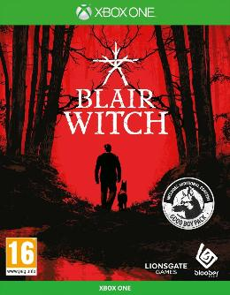 Carátula o portada Europea del juego Blair Witch para Xbox One