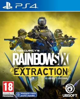 Carátula de Tom Clancy's: Rainbow Six Extraction para PlayStation 4